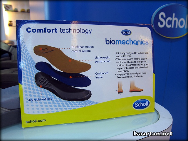 The biomechanics tech behind Scholl shoes