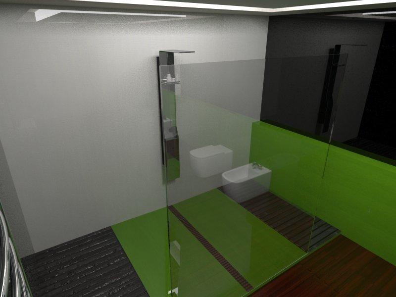 Cuartos De Baño Con Ducha:Interiorismo AnipaDesing: CUARTO DE BAÑO CON DUCHA