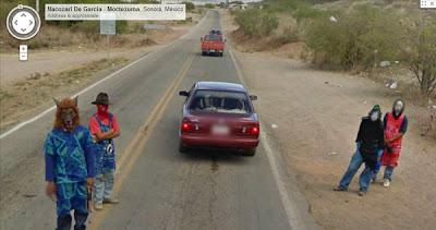 misterios google street view