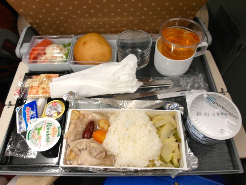 Singapore Airlines Flight Food