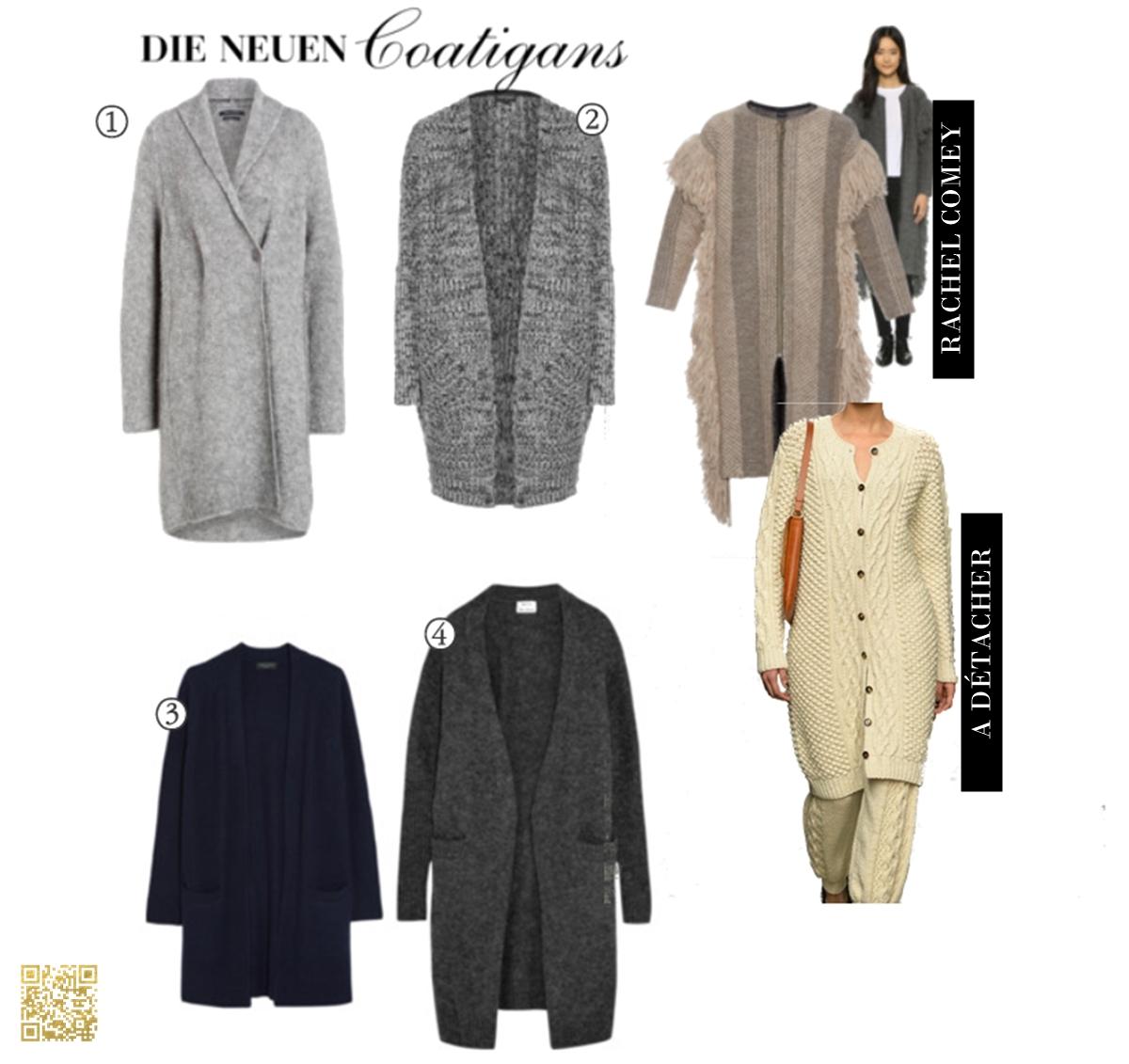 Zieht euch warm an - Die neue Coatigans / / Dress warm - the new coatigans
