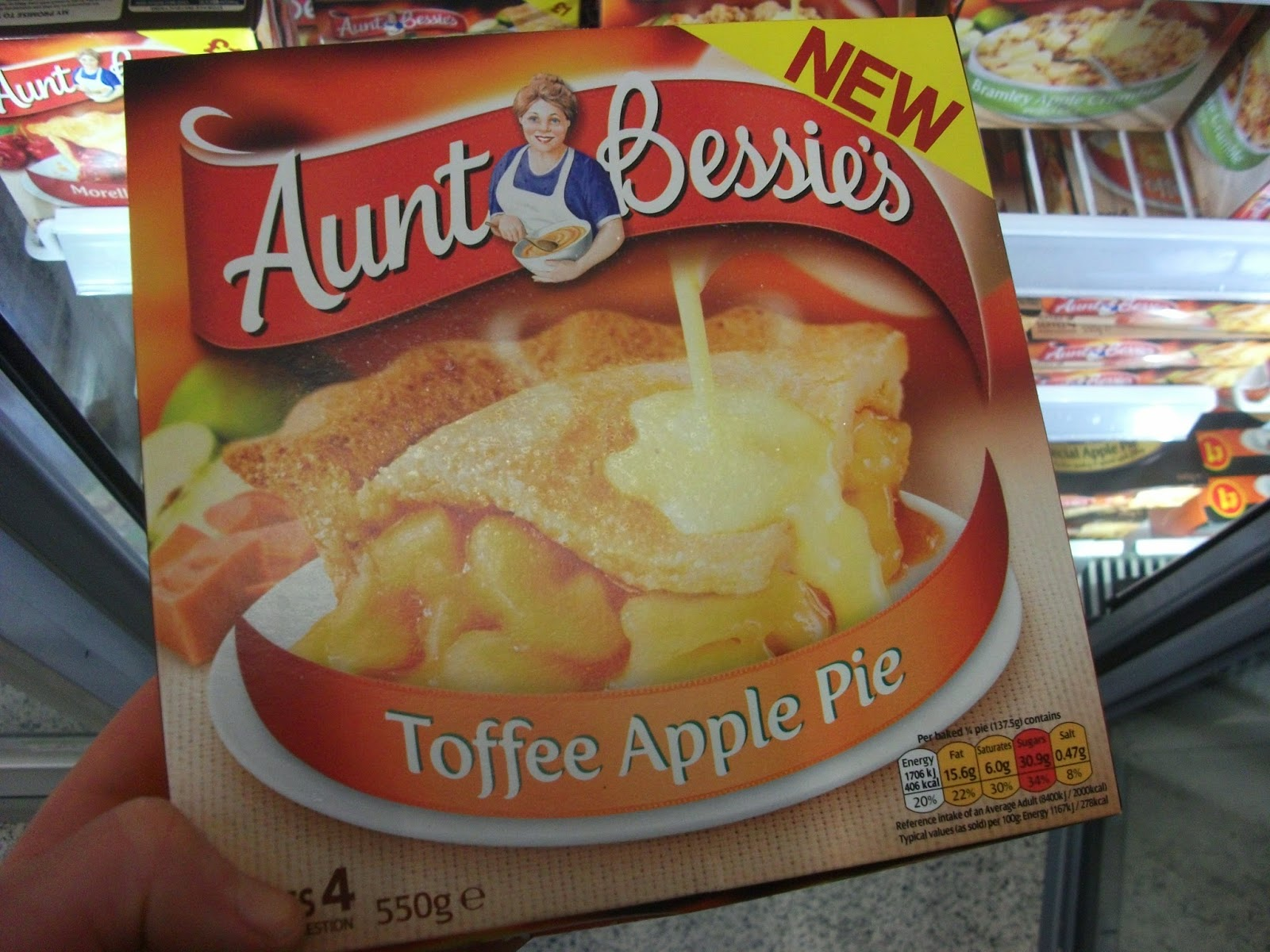 Aunt Bessie's Toffee Apple Pie : I wouldn't usually buy apple pie, I&...