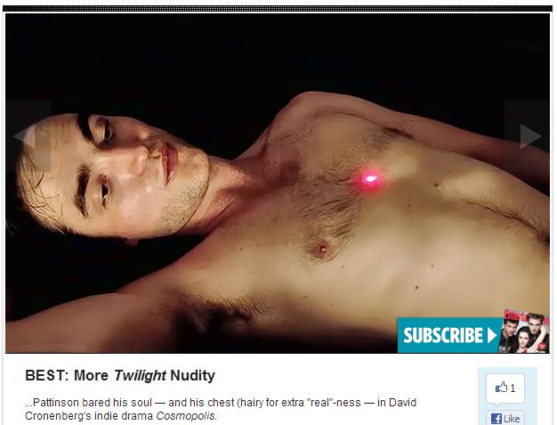 Fotos de desnudos de Robert Pattinson filtradas en