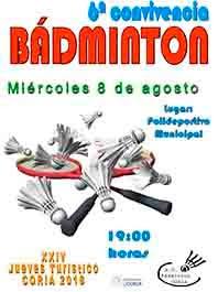 6ª CONVIVENCIA DE BÁDMINTON