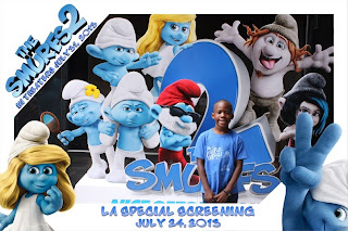 smurfs+7-24_0168 Smurfs2 Screening And Party