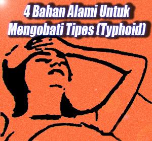 4 Bahan Alami Untuk Mengobati Tipes (Typhoid)