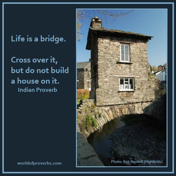 Famous Bridge Quotes Quotesgram