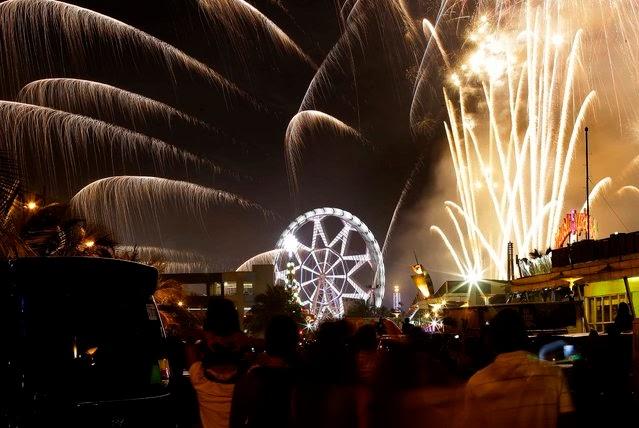 Fuegos Artificiales, año nuevo 2014, Filipinas