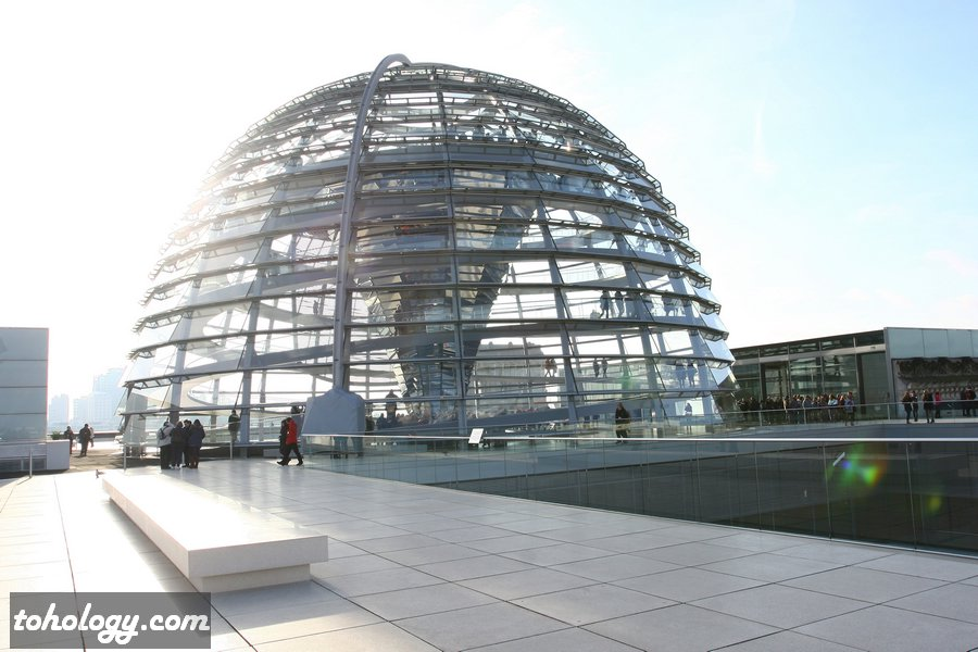 The Reichstag dome / Купол Рейхстага