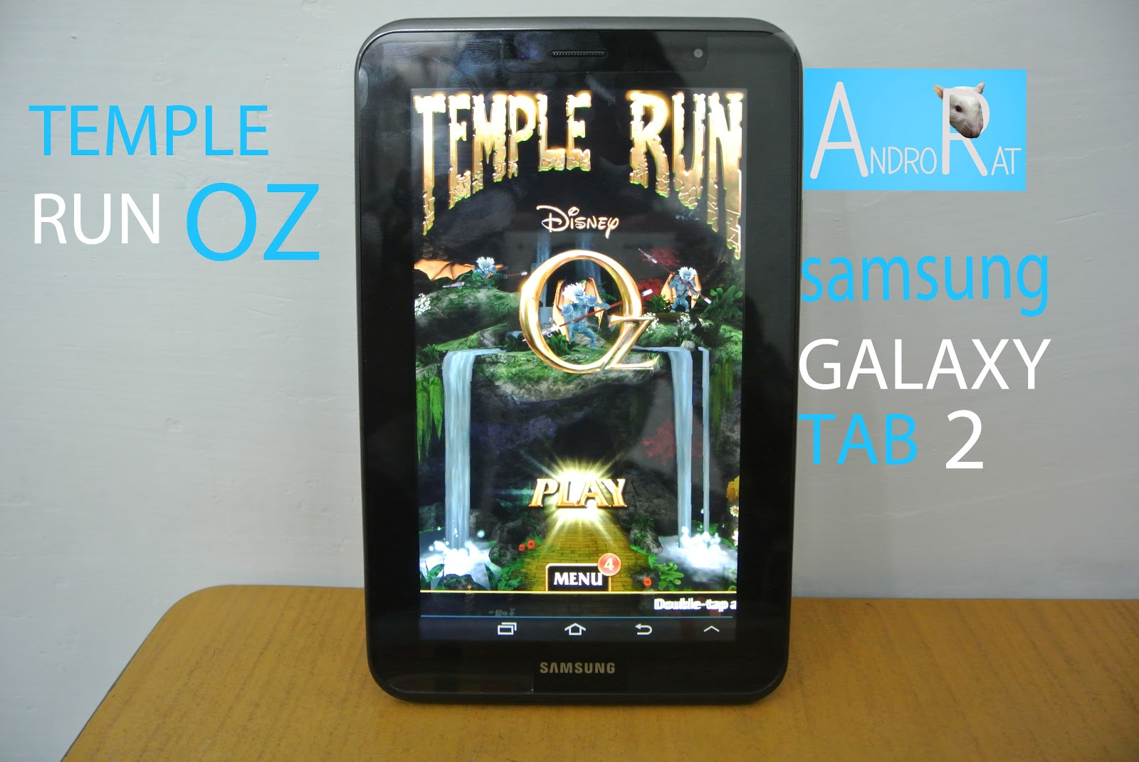 Temple run not running in Samsung Galaxy Y