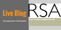 live blog - occupy your curriculum - teacher and musician