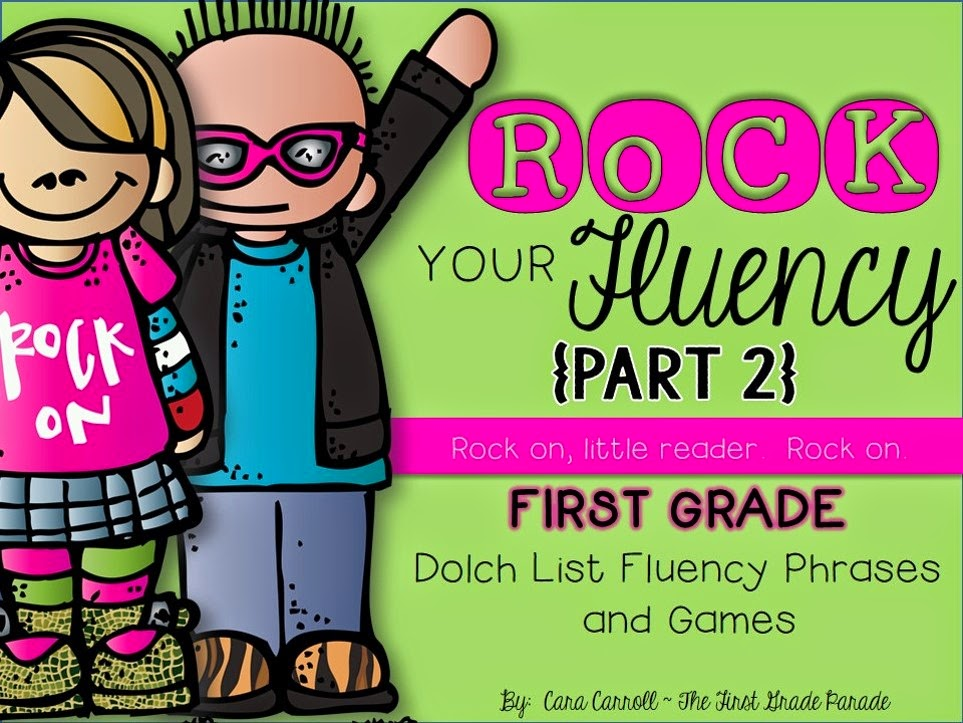 Rock Your Fluency 1st Grade