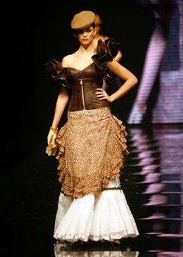 traje flamenca Vicky Martín Berrocal