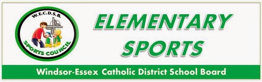 WECDSB Elementary Sports Council