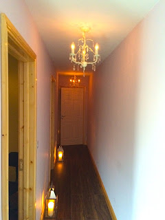 Hallway in the C & B Therapy Spa Salon