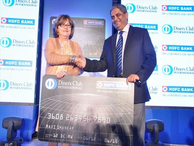 Hdfc bank diners club international credit cards daily news hdfc bank launches co branded credit cards reheart Images