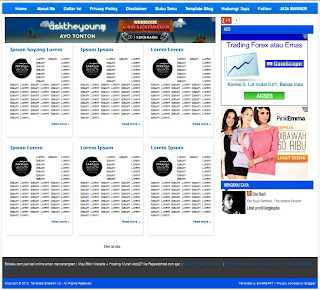 Free Download Share4rt Seo Template V2