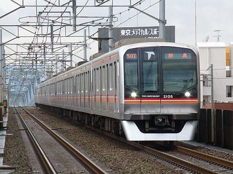 東京メトロ東西線 妙典行き6 東葉高速鉄道2000系