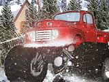 Heavy Wheels On Snow | Juegos15.com