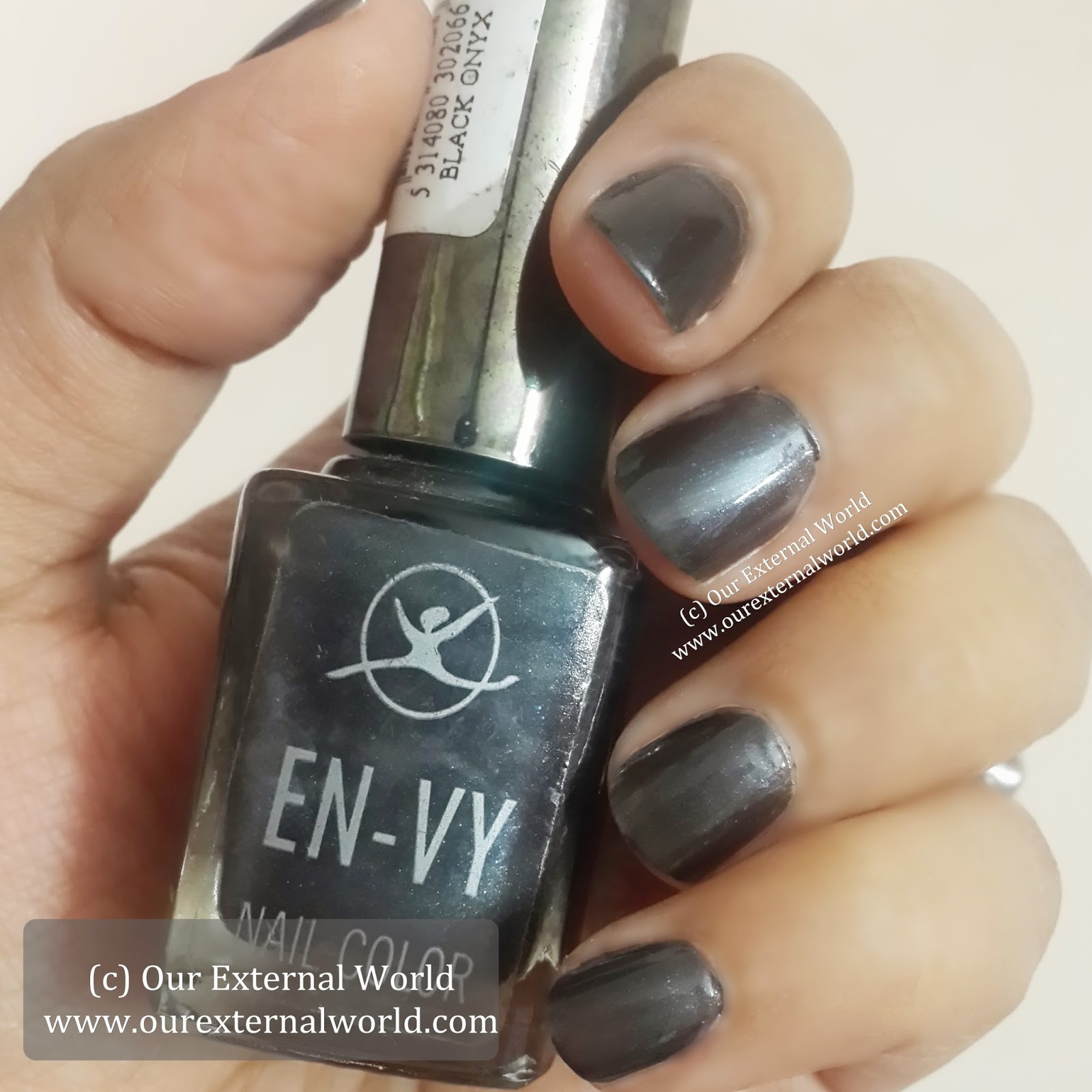 Black Nail Polish Swatch: Black Onyx Swatches, Review, Price