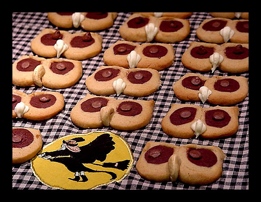 Halloween Hoot Owl Cookies