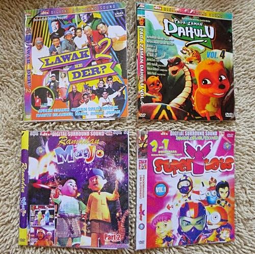 CD buat anak buahku Ramadhan Mat Jo, Super Tots, Pada Zaman Dahulu & Lawak Ke Der? 2