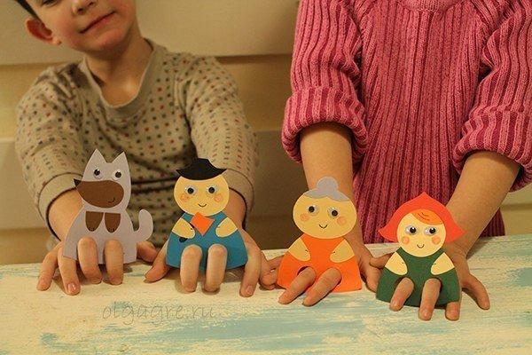 Изготовление кукол для театра