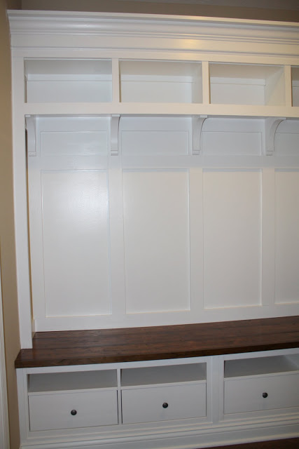 Folding Dining Room Table Ikea ~ Adding Mudroom Built Ins to the Garage  The Kim Six Fix