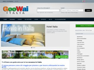 GooWay vacanze in Italia