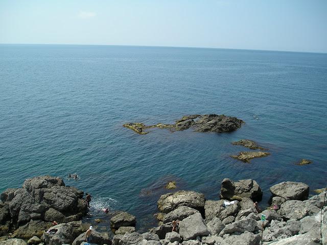 Дикий пляж. Мыс Сарыч