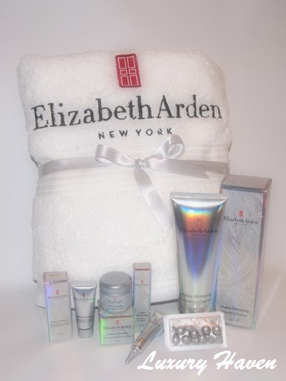 elizabeth arden visible whitening goodie bag