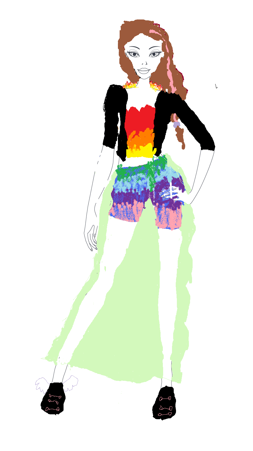 ask me what my style me up entries looked like so here is what they  look like ( BTW they arent very good cause im bad at designs on a computer)