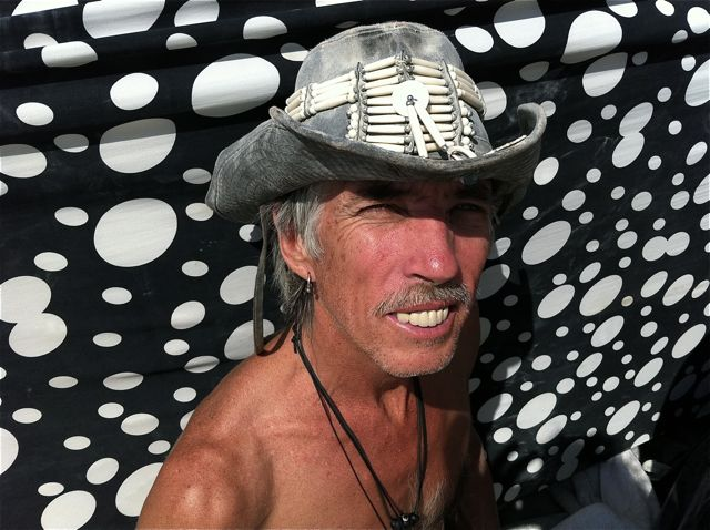 Paul Festa's Archive Fever: Burning Man Photo Essay, Part 4: MOOP Squad: Randy