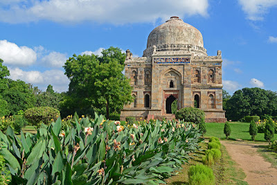 Sheesh Gumbad at Lodi Garden