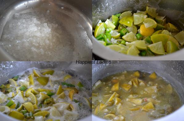 How to make Lemon Pickle?