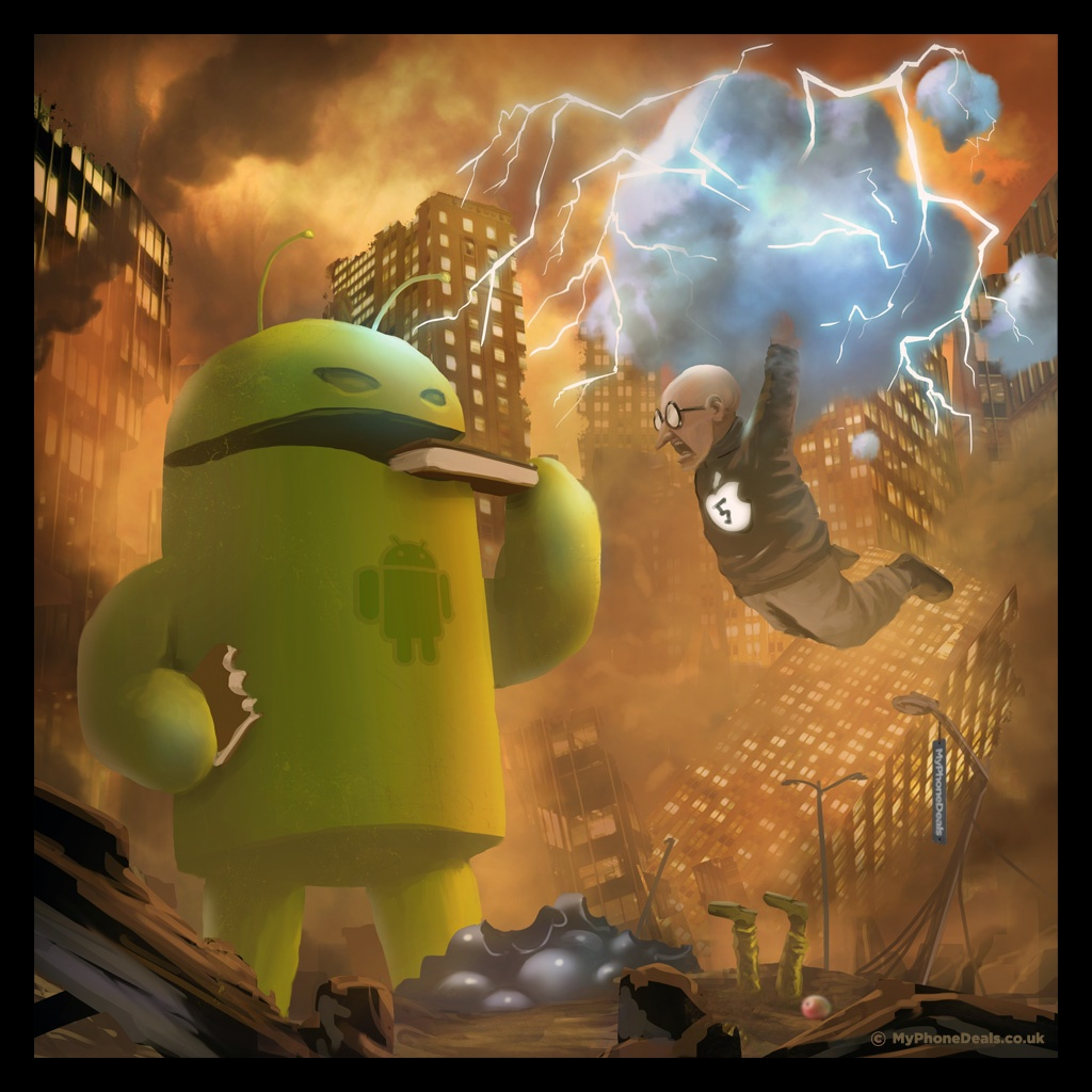 Battle Royale– Generative Platforms (Android) vs Locked ...