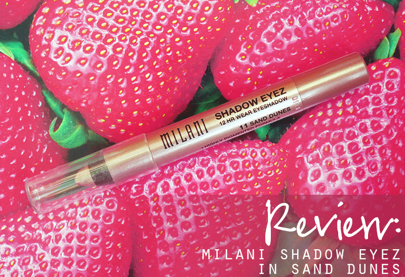 Milani Milani Shadow Eyez 12 Hr Wear in Sand Dunes pencil