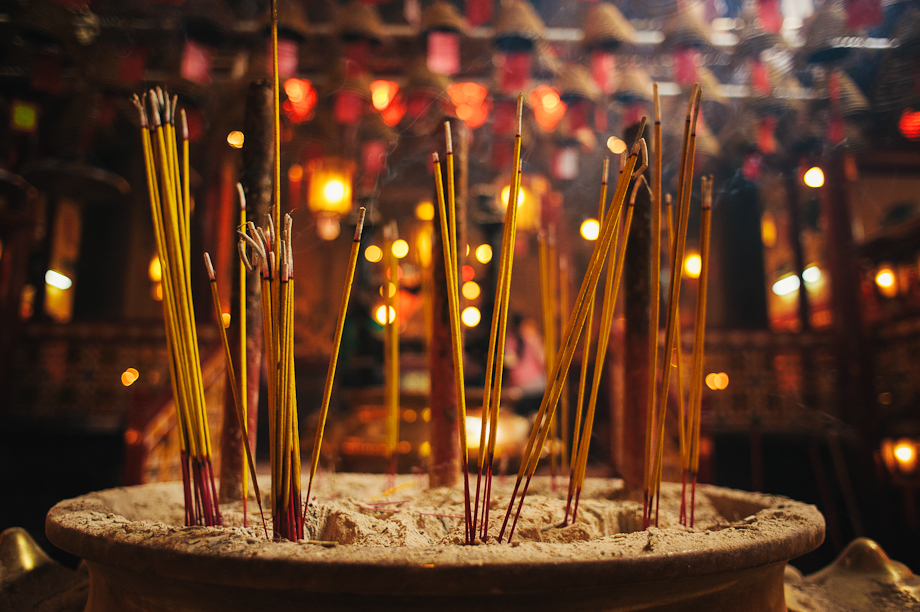 Chenghuang Miao city god temple incense burning