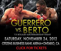 Berto vs Guerrero