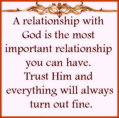 quotes about relationship with god