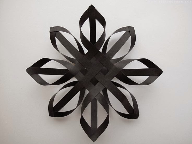 Diy 3d paper snowflakes time and glam for Diy paper snowflakes 3d