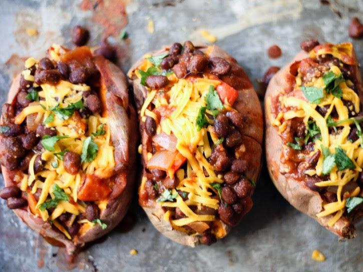 ambitious kitchen vegetarian black bean chili i used monterey jack ...