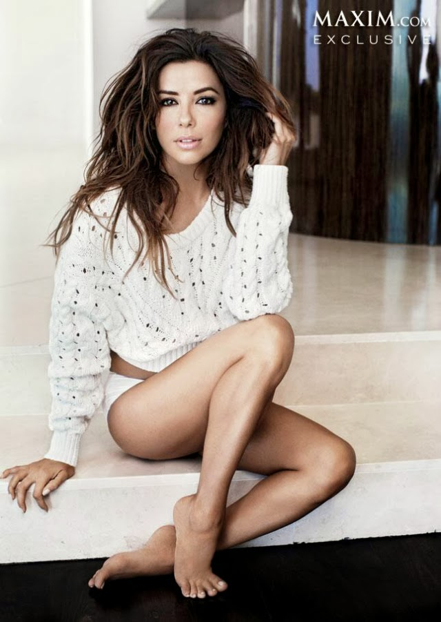Eva Longoria en portada de la revista Maxim