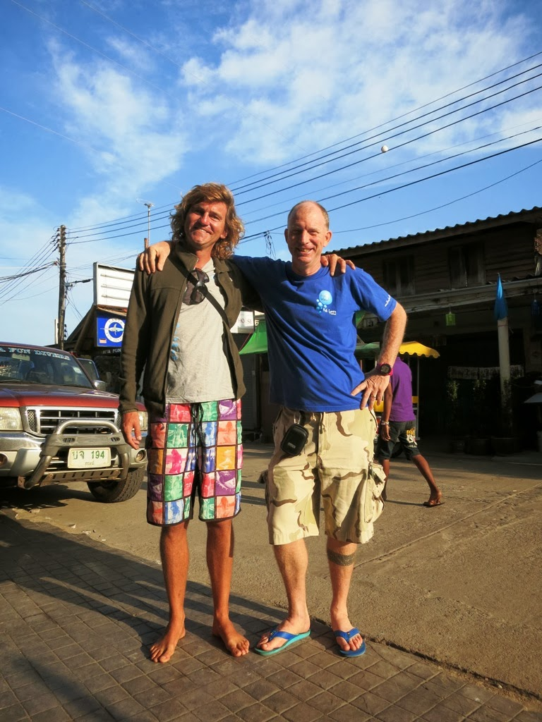 David from the October 2013 IDC on Gili Air, Indonesia