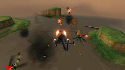 Gunship Battle Helicopter 3D Mod Apk-screenshot-4