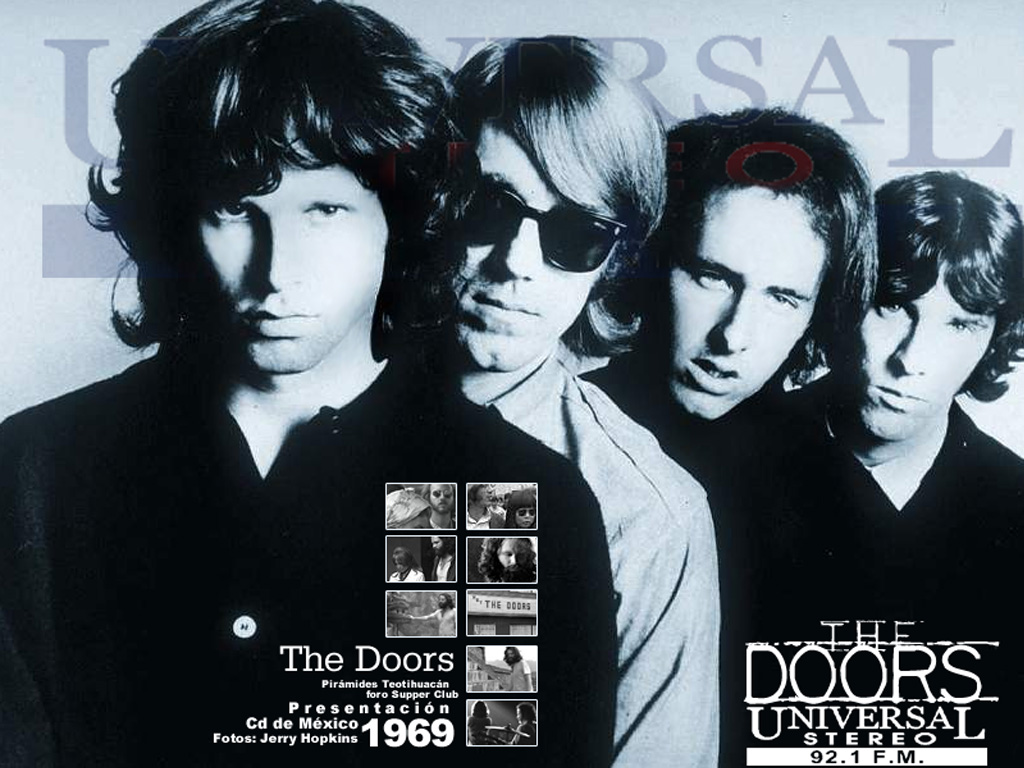 Wallpapers Hd The Doors Banda Musica Wallpapers