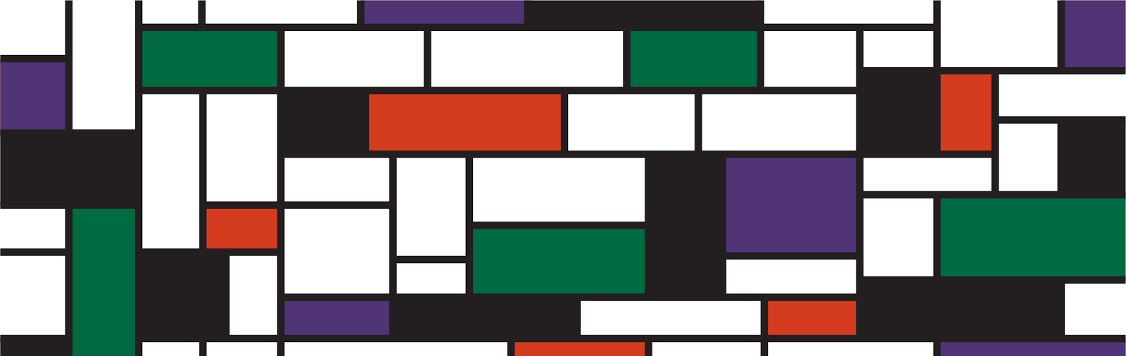 Mondrian-style wallpaper - Jen Haugan Animation & Illustration