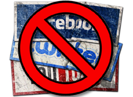banning Facebook, Twitter, and Youtube