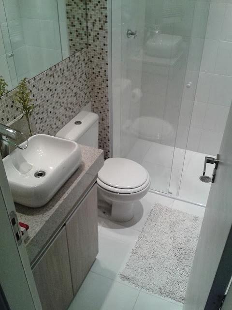 Donna de casa e artesã nas horas vagas Planos para casinha Banheiro -> Banheiro Decorado Ap