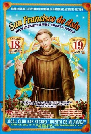 fiesta de san francisco de asis